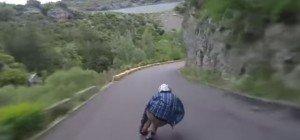 Adrenalinjunkies jagen sich den Berg hinunter