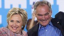 Senator Tim Kaine als Clintons Vize nominiert