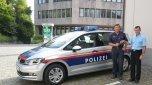 Neues Polizeiauto für Rankweil