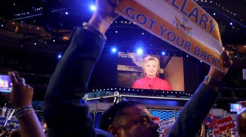 US-Präsidentschaftswahl: Hillary Clinton offiziell nominiert
