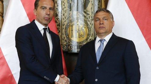 Nach Eiszeit: Kern und Orban wollen neues Kapitel aufschlagen