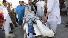 Selbstmordanschlag bei Demo in Kabul