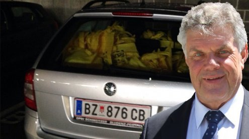 ÖVP-Werbung im Stadtauto? Vorwürfe gegen Katzenmayer