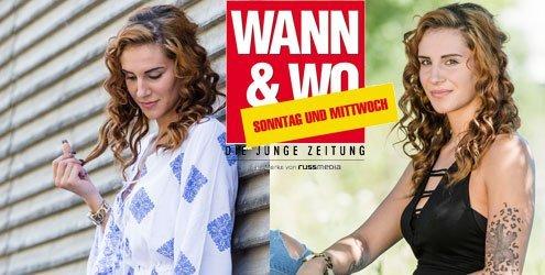 W&W-Fotoshooting mit Sarah