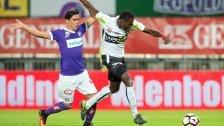 1:3: SCR Altach kassiert in Wien erste Niederlage