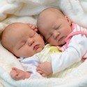 Geburt von Marie und Jana Perfler am 19. August 2016