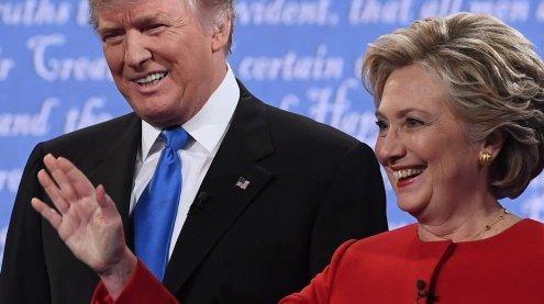 """""""Ich bin darauf vorbereitet Präsidentin zu sein - Er nicht!"""""""