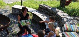 Geschichten spannend erzählt im Bugo-Garten