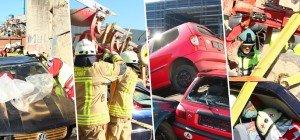 Feuerwehren aus ganz Vorarlberg proben den Ernstfall