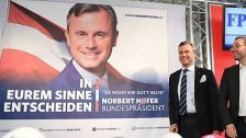 """Hofer plakatiert mit """"So wahr mir Gott helfe"""""""