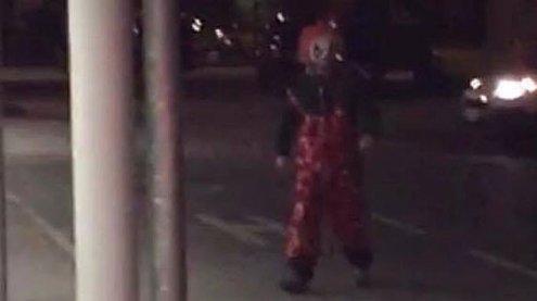 Erstmals in Vorarlberg: Horror- Clown wurde in Bludenz gesichtet
