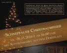 Schnepfauer Christbaumfeier mit Adventmarkt