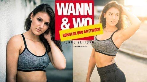W&W-Fotoshooting mit Corina