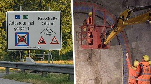 Nächste langfristige Sperre des Arlbergtunnels im Frühjahr 2017