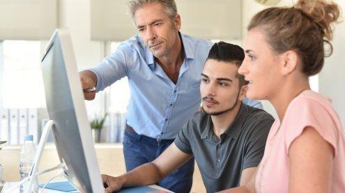 Jobsicherung 'Ausbildung': Lehre reduziert Arbeitslosigkeitsrisiko