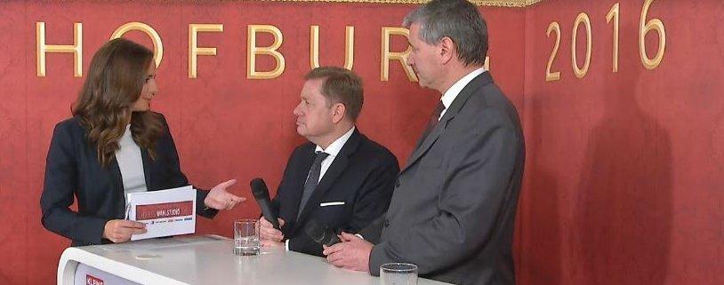 Livestream aus der Wiener Hofburg
