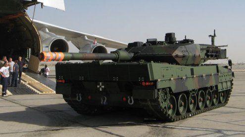 Deutschland verlegt Panzer an die Grenze zu Russland