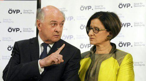 Ein Tag nach Rücktritt: ÖVP diskutiert Pröll-Nachfolge