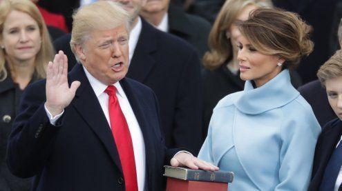"""Hello Mr. President"" - Trump ist als 45. US-Präsident vereidigt"