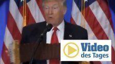 Die perfekte Erklärung für Trumps wilde Gestik!