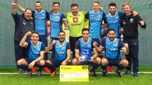 Seehallen-Cup: Favorit FC Hard zitterte sich zum Turniersieg