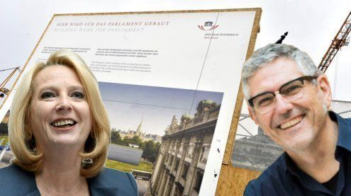 "Pressekonferenz live: Parlament zieht in ""Ländle-Pavillons um"""