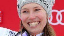 Scheyer auch im Training in Garmisch vorne dabei
