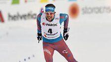 Russe Ustjugow holte im Skiathlon erstes WM-Gold