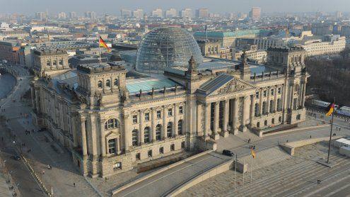 Russland baut Modell des Reichstags zur Erstürmung