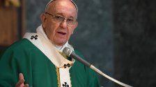 """Papst verurteilt """"populistische Hetze"""""""