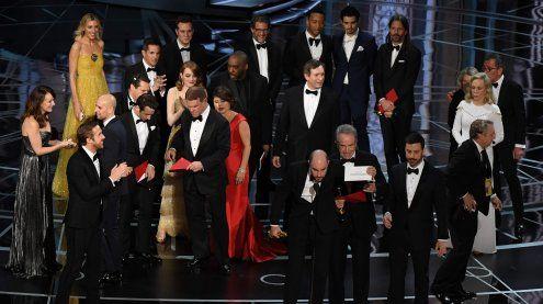 Oscars: Kurioser Patzer - Falscher Titel zum besten Film erklärt!