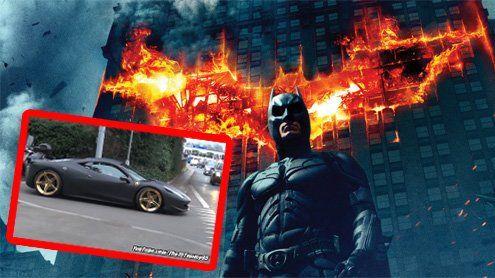"""Dieser """"Batman-Ferrari"""" aus Liechtenstein ist ein Internet-Hit!"""