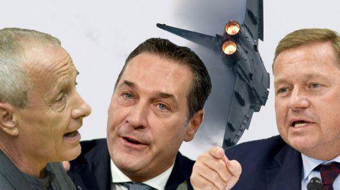 Scharfe Debatte rund um den U-Ausschuss in Causa Eurofighter