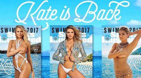 """Kate Upton kehrt auf das Cover der """"Sports Illustrated"""" zurück"""