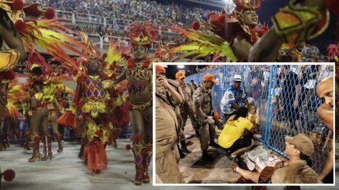 Rio: Unfall überschattet Karneval – Wagen fuhr in Menschenmenge