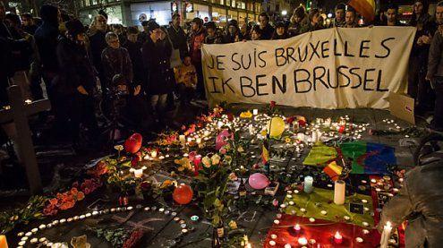 Brüssel gedenkt der Opfer der Anschläge vor einem Jahr