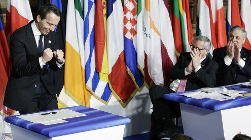 """""""Es wird für immer halten"""" - Die EU feiert ihren 60. Geburtstag"""