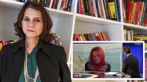 Im ZiB2-Interview: Asli Erdoganwird in der Türkei festgehalten