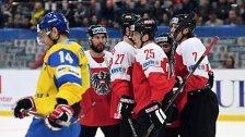 ÖEHV-Auswahl besiegte bei B-WM Ukraine 1:0
