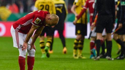 Nach Doppel-Aus in Pokal und CL: FC Bayern München am Boden