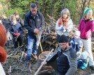 Waldaktion mit dem Alpenverein