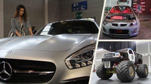 Showcars und Monstertrucks: Die Tuning World Bodensee 2017