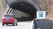 Nächtliche Sperre des Dalaaser Tunnels
