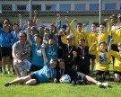 SMS Nenzing stellt zwei Meister im Faustball-Schulcup