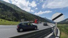 Radfahrverbot über den Arlbergpass