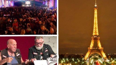 Tausende Hells Angels in Paris!