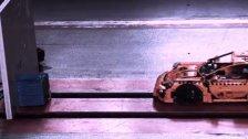 Dieser Porsche fährt mit 46 km/h gegen die Wand