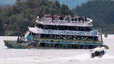 Touristen-Boot sinkt in Kolumbien - mehrere Tote