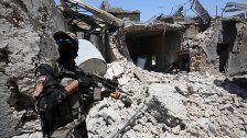Irak-Armee nahm erneut Viertel in Mosul vom IS ein