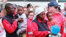10.000 Flüchtlinge in vier Tagen - Rom unter Druck